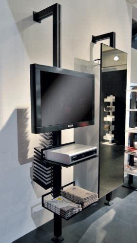 porta cd girevole totem libreria porta cd porta tv by aico non mobili