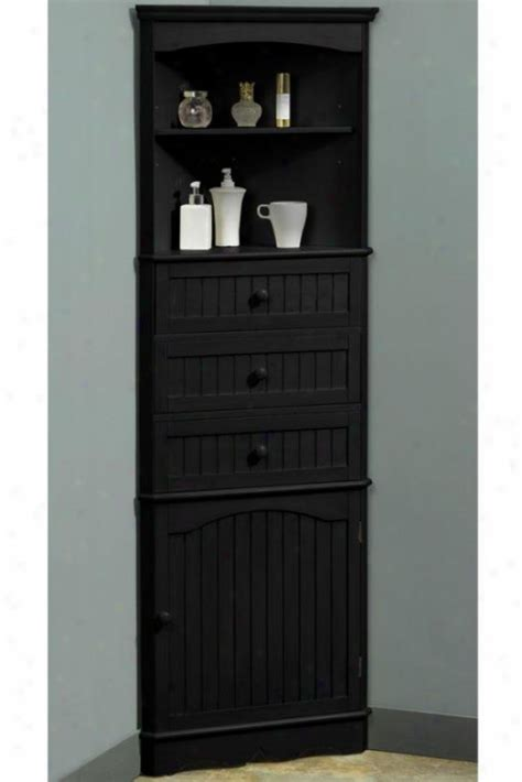Corner Cabinet Bathroom Storage One Door Corner Cloth Of Flax Cabinet For The Home Bathroom Cabinets Cabinets