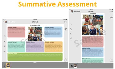 summative assessment template sles keptme