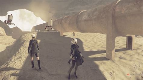 nier automata exploring earth s distant future 27