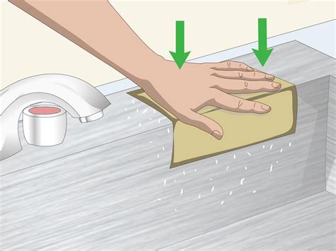 how to clean stainless steel sink scratches 3 ways to get scratches out of a stainless steel sink