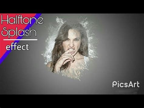 tutorial edit di picsart tutorial edit halftone splash picsart di android youtube