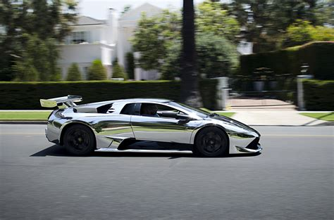 chrome lamborghini chrome lamborghini murcielago lp640 flickr photo