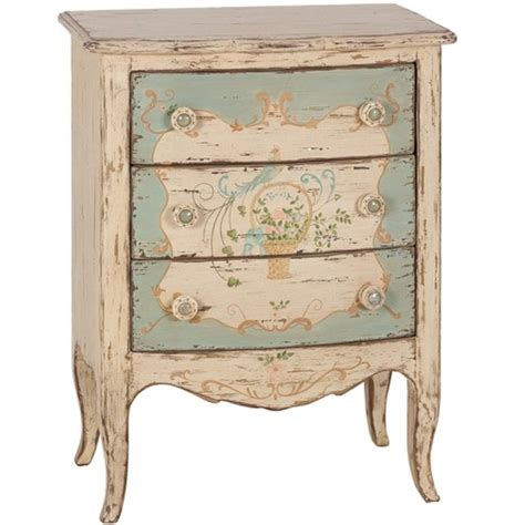 painted shabby chic nightstand furniture make over