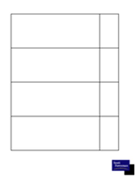 four column chart template chart four column printable pre k 12th grade