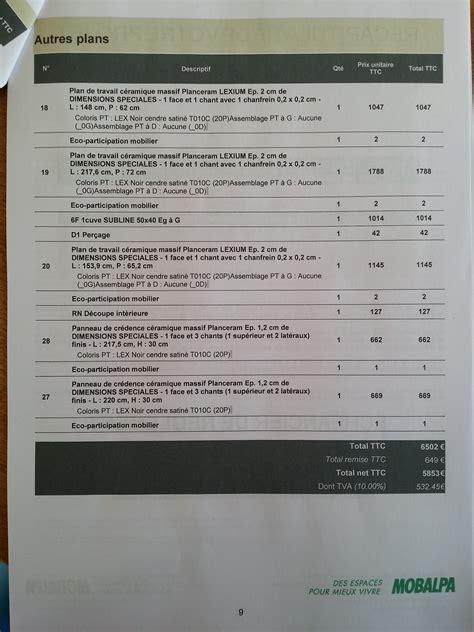 Plan De Travail Cuisine 136 by Cuisinistes Les Bons Plans Les Arnaques Page 136