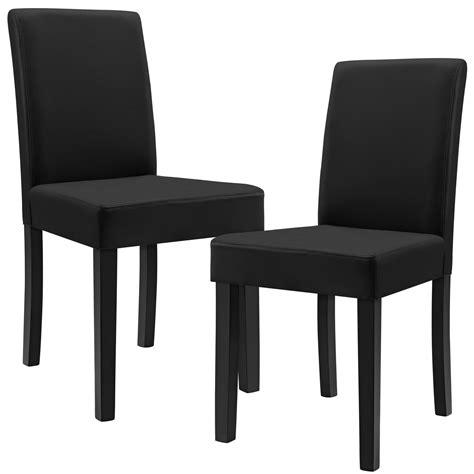 schwarze stühle moderne schwarze leder esszimmer st 252 hle m 246 belideen
