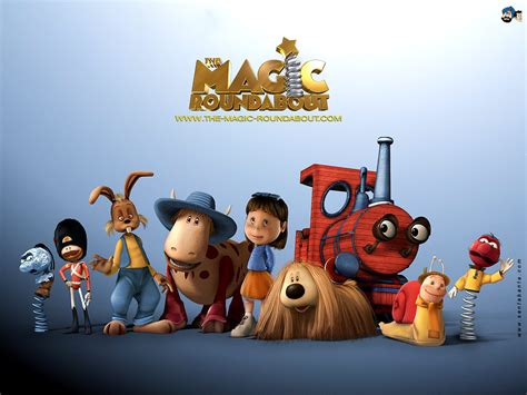 The Magic the magic roundabout wallpaper 6