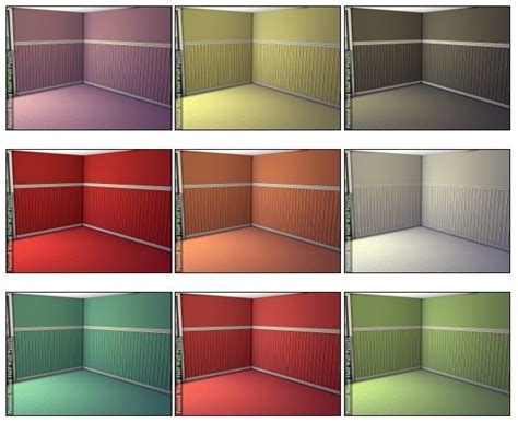wall half wood panels painted wood half wall panels at dragonk sims 187 sims 4 updates