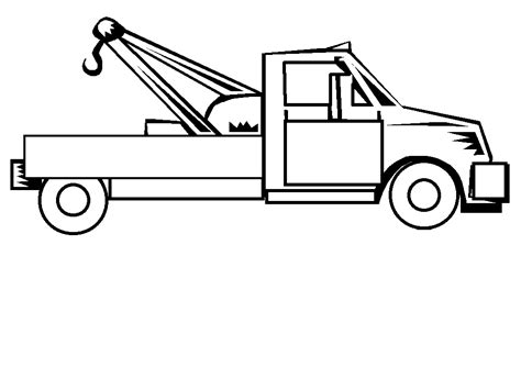 Truck Coloring Pages Coloringpages1001 Com Trucks Coloring Pages