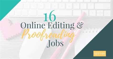 Online Editing Jobs Work From Home - online editing and proofreading jobs