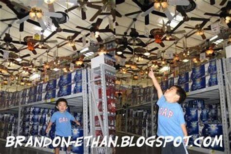 lowe s home improvement ceiling fans growing up with brandon and ethan lowes and ceiling fans