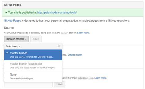 membuat web statis dengan html dan css cara membuat halaman github untuk repositori