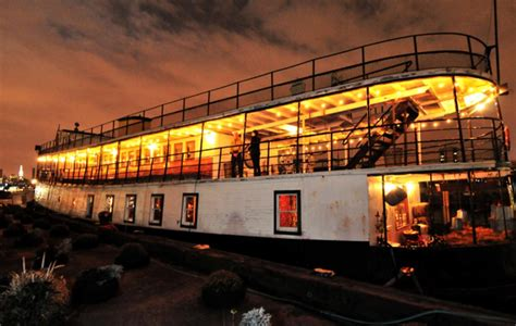 step inside artists magical house boat and upstate - Houseboat Upstate New York