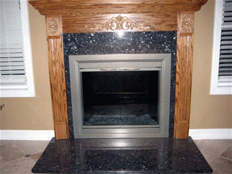 Fireplace Reflector Panels by Custom Reflective Back Panels For Fireplaces Sterling