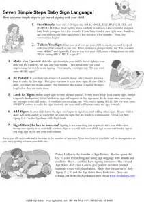 sle birth plans templates free baby sign language chart 2 pdf 6 page s