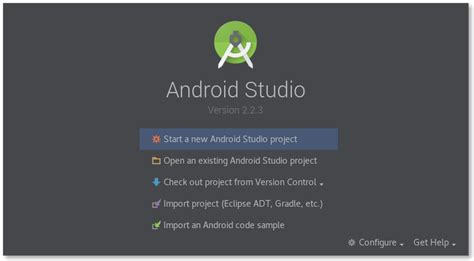 android studio http post tutorial creating a new project and an emulator on android studio