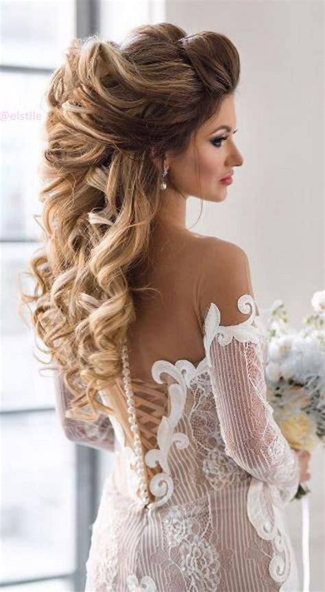wow worthy long wedding hairstyles  elstile