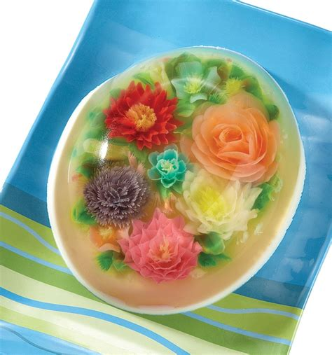 Flower Design Jello | 17 best images about pudding jelly on pinterest jars