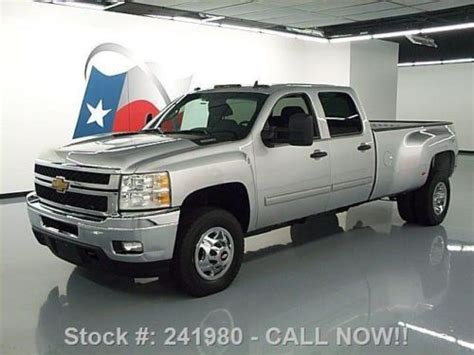 how to fix cars 2012 chevrolet silverado 3500 electronic valve timing find used 2012 chevy silverado 3500 lt crew 4x4 diesel dually 54k texas direct auto in stafford