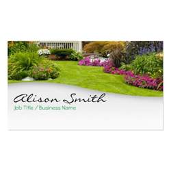landscaping business card template zazzle