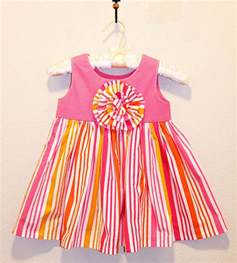 Pure cotton baby frocks designs 2016