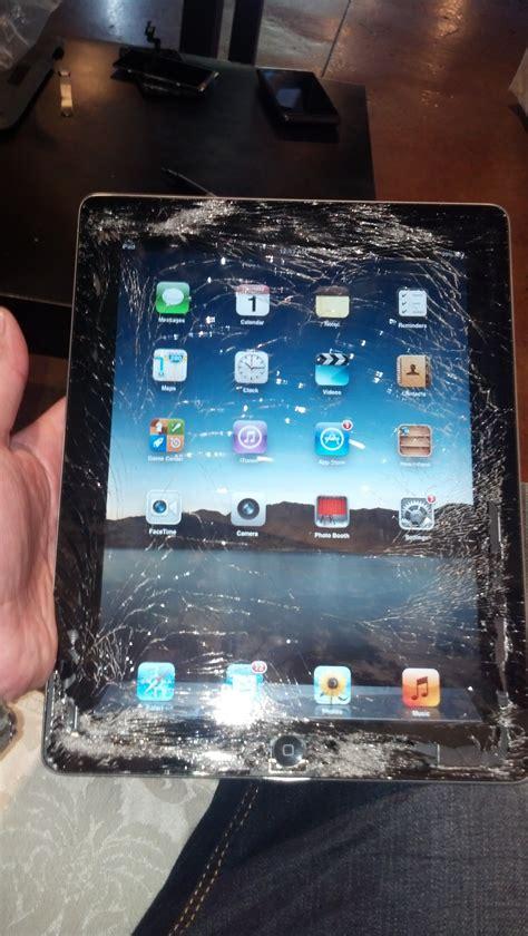 ipad  cracked glass digitizer screen repair service