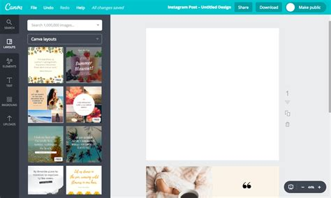 create post template how to make templates for instagram posts 3 ways