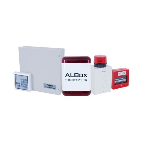 Alarm Albox jual albox acp 811a paket alarm security sytem 8 zone with