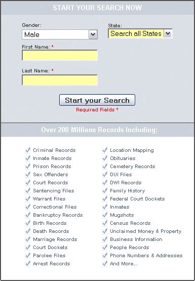 Criminal Record Check Free Free Background Check On Anyone