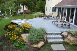 Stamped Concrete Patio With Fire Pit by Hometalk Backyard Ideas Synlawn Golf S Clipboard On