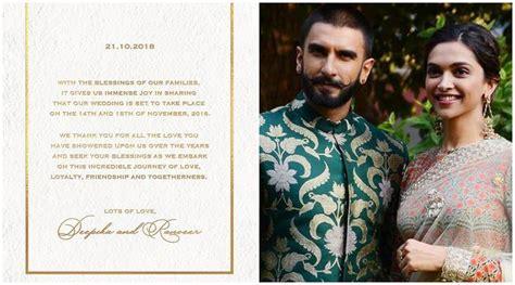 deepika padukone ki shadi ki pic ranveer singh and deepika padukone announce wedding date