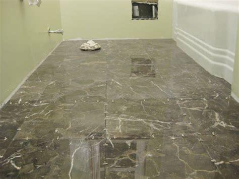 bathroom floor wet around toilet how to install subway tile in a shower marble floor