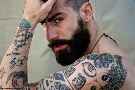 top male tattooed models google search models