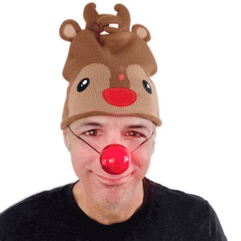 rudolph the red nosed reindeer blinking nose the ugly