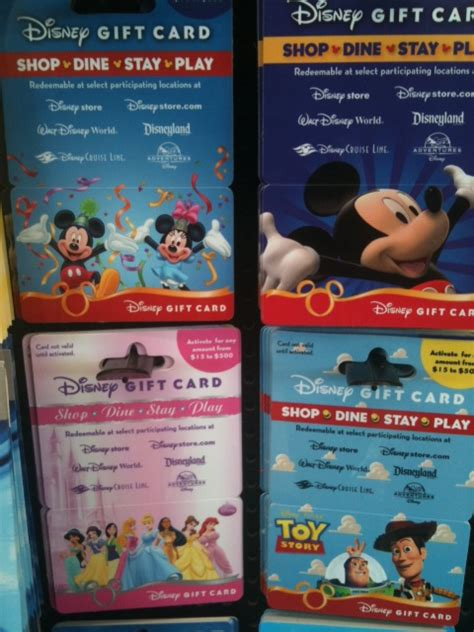 Disney Gift Card - fundamentals growing your fund by purchasing disney gift cards as you go