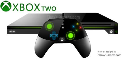 new console xbox 2 console and controller concepts by darpan bajaj