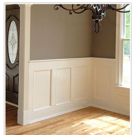 How To Put Up Wainscoting Panels Paneling House On Post Oak