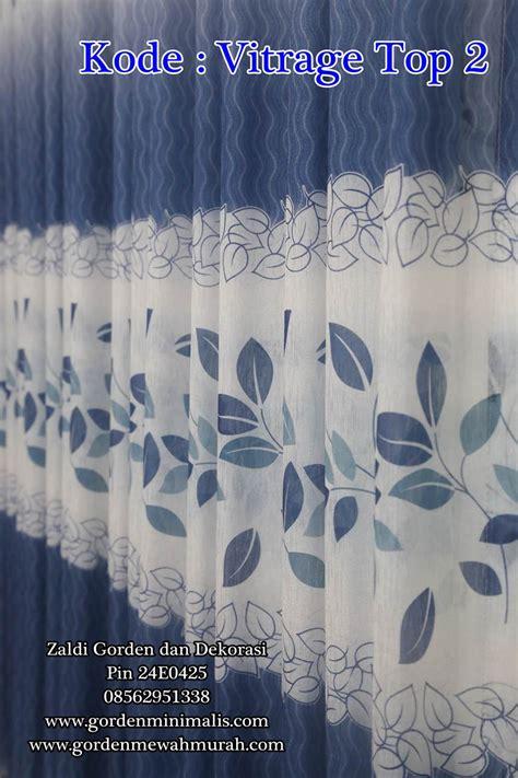 Top 2 Warna kain dalaman gorden murah minimalis berkualitas vitrage