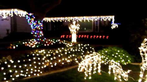 eagle hills neighborhood brea ca christmas light 2013