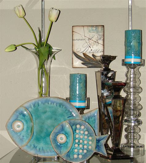 fish home decor accents anything blue everything blue pottery fish and color pallets