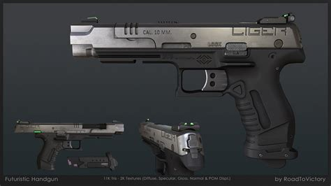 The Gallery For Gt Real Futuristic Rifle