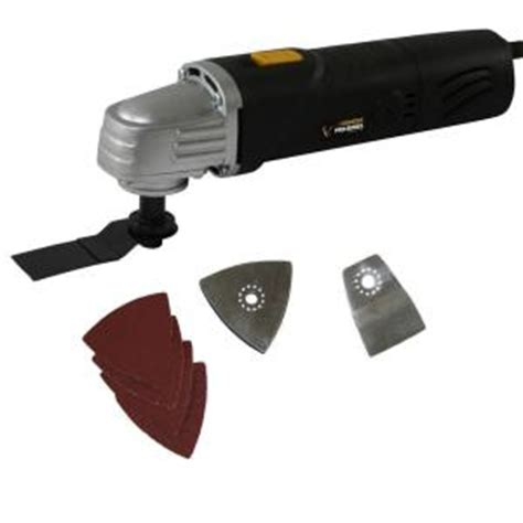 Home Depot Tools by Buffalo Tools Oscillating Multi Tool Kit 8 Ps07490