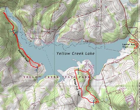 yellow pa yellow creek state park pahikes