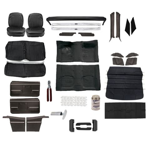 Camaro Upholstery Kits by Standard Interior Complete Kit 1968 Camaro Convertible