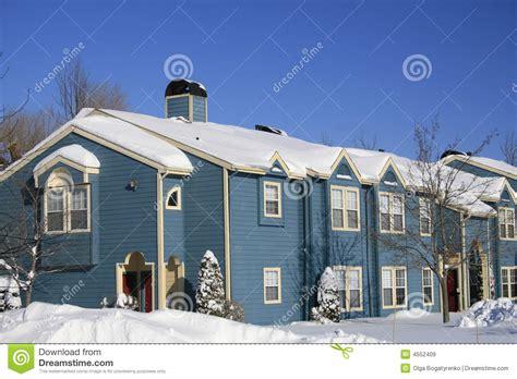 imagenes libres casa casas azules nieve invierno im 225 genes de archivo libres