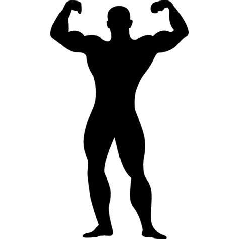 muscle man cartoons clip art library