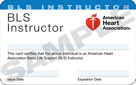 aha bls cards template bls instructor class san francisco bls acls pals nrp