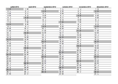 calendrier gratuit 2011 2012