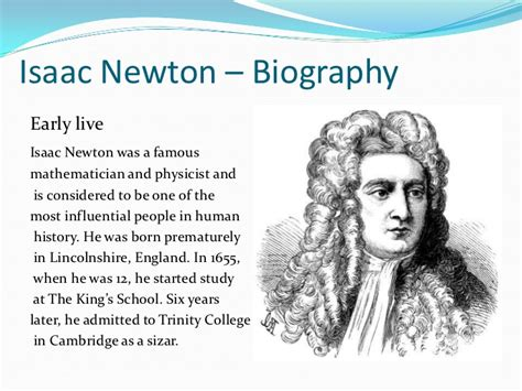isaac newton biography with photo an2 london personalities